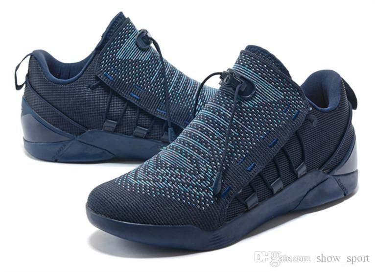 Compre 2018 Nike KD 12 Basketball Nuevo Para Hombre KOBE A.D. NXT 12  Zapatillas KB Volt Blanco Baloncesto Negro Zapatillas De Deporte Casual  Zapatillas Para ... dca8498a35a