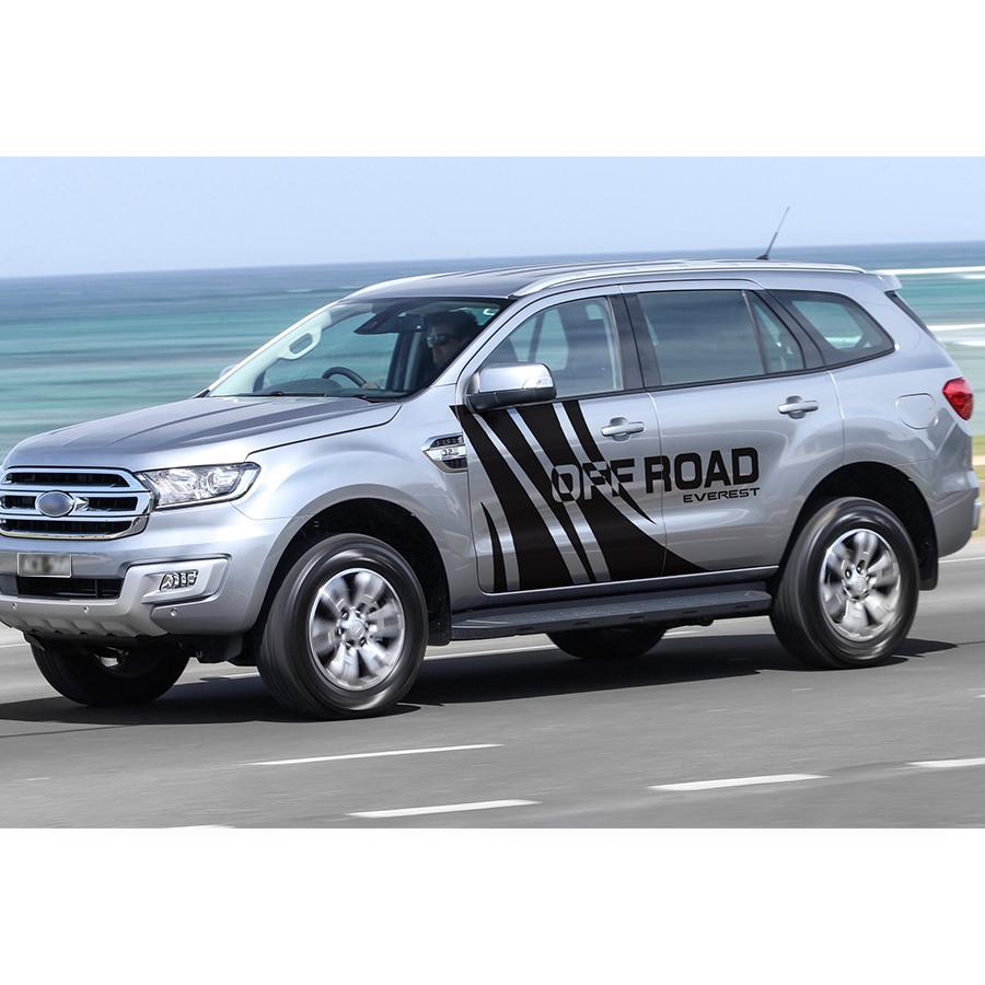 2019 for ford everest 2015 customize car decals side body off road personal styling protect scratch graphic vinyl car stickers from zhongfucar