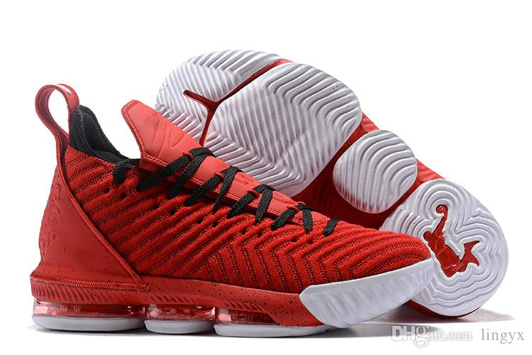 best website 8db80 0af40 Compre Nike Lebron 16 Soy King 16 16S Calzado De Baloncesto Para Hombre  Prometo Blanco 1 Thru5 Lo Que The Fresh Red Bred Equality Oreo Trainer  Sports ...