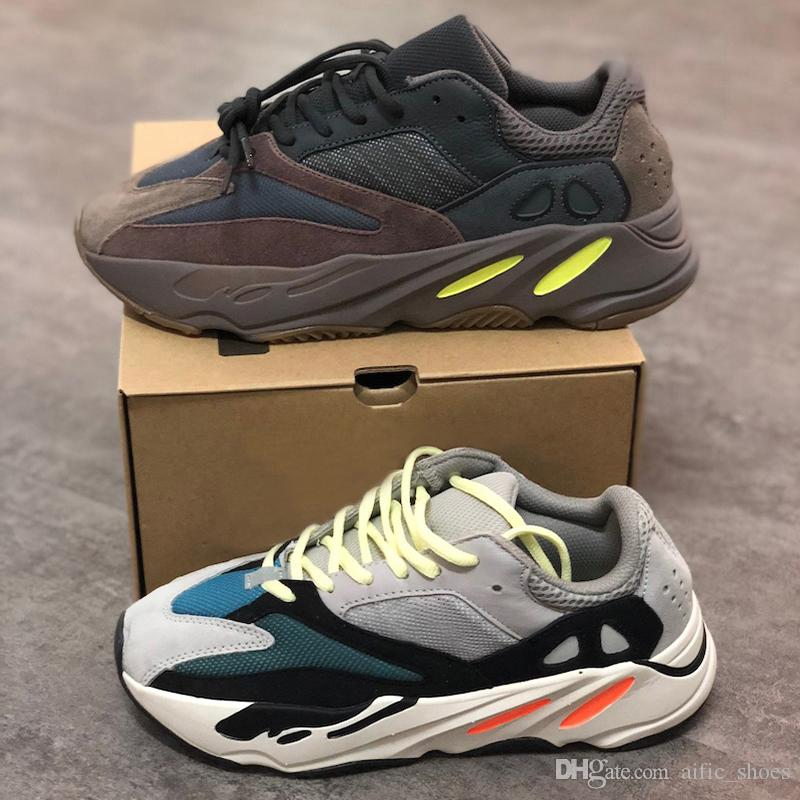 db11291de Kanye West Designer Sneakers 700 Trainers Mens Shoes 700 Wave Runner  Sneakers Mauve EE9614 B75571 Shoes Men Women Top Quality With Box Mens Sale  Cheap ...