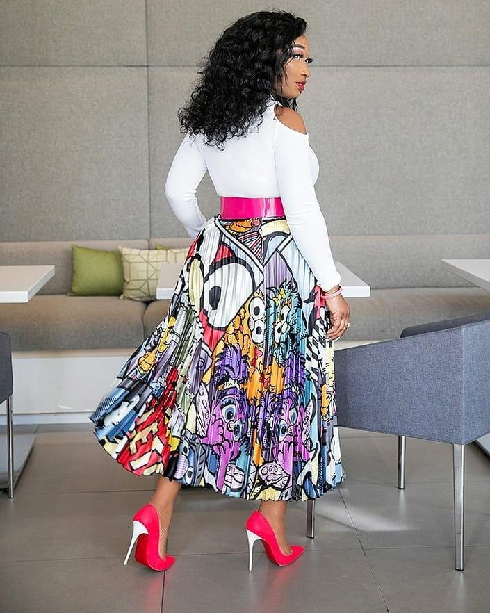 255c30fa3 2019 African Skirt For Women African Clothes Africa Not Dress Print ...