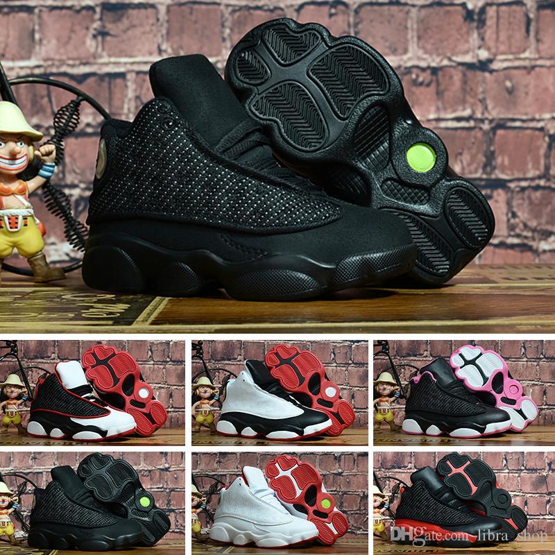 newest 76861 1e8ca KIDS 13s Basketball Shoes One Penny Hardaway Children Tennis FOAM Eggplant  Basketball Sport Shoes Outdoor Athletic Sneaker shoe Eur 41-47