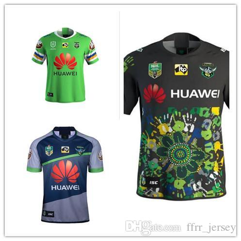217cffbd588 2018 NRL JERSEYS CANBERRA RAIDER S Rugby 18 19 Oakland Canberra ...