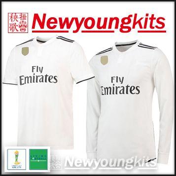 hot sale online e4047 6082b 2018 19 Real Madrid soccer Jersey Club World Cup finals 2018 Football  uniforms MODRIC BALE RAMOS BENZEMA soccer shirt