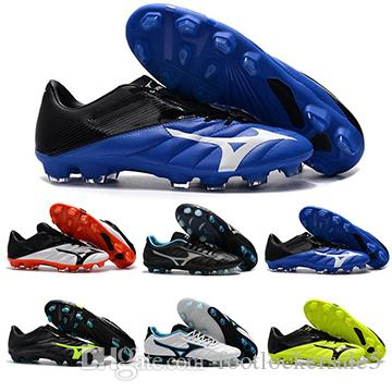 timeless design e7204 1cc12 2019 New Rebula V1 Mizuno Mens Football Boots Red Blue Green Youth Player Soccer  Shoes BASARA Hot Predator Outdoor Futsal Sports Sneakers Shoes From ...