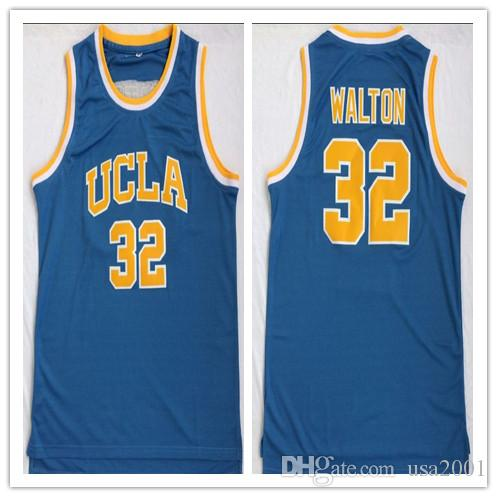 best website 78cd4 3a4b1 custom made UCLA Bruins ollege 32 Bill Walton man women youth basketball  jerseys size S-5XL any name number