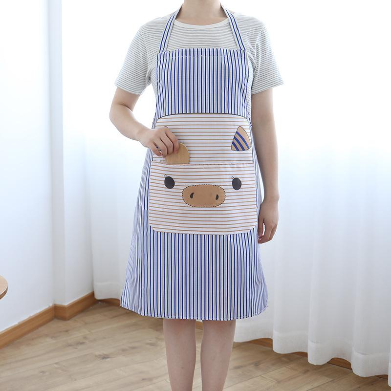 651cdc60b DINIWELL Cute Kitchen Apron For Cooking Baking Restaurant Pinafore ...