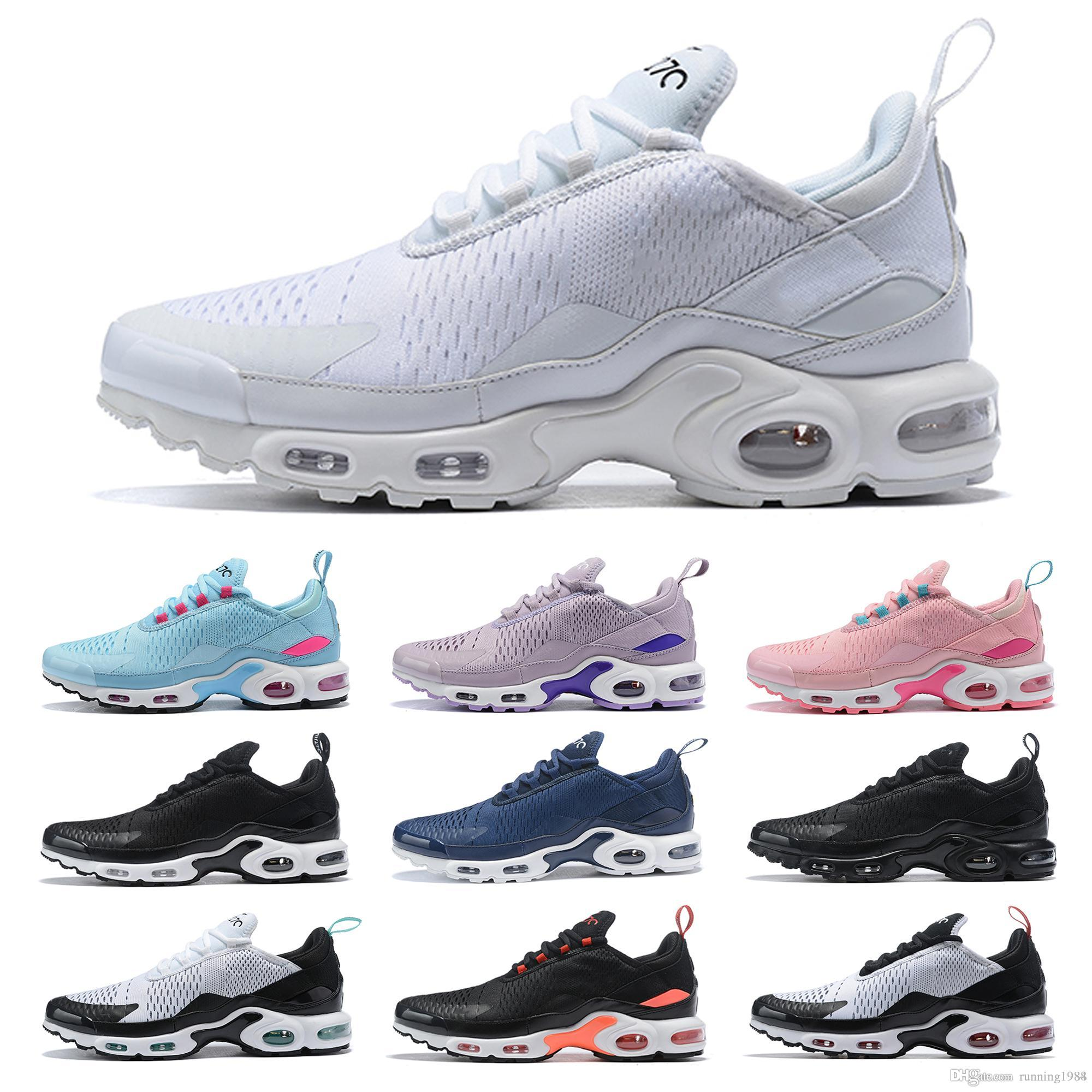 outlet store 34c5d ea408 Mercurial TN Air Mens Designer Running Shoes 2019 Women Outdoor Trainers TN  Plus Fashion Classic Hiking Jogging Sports Sneakers 36-45