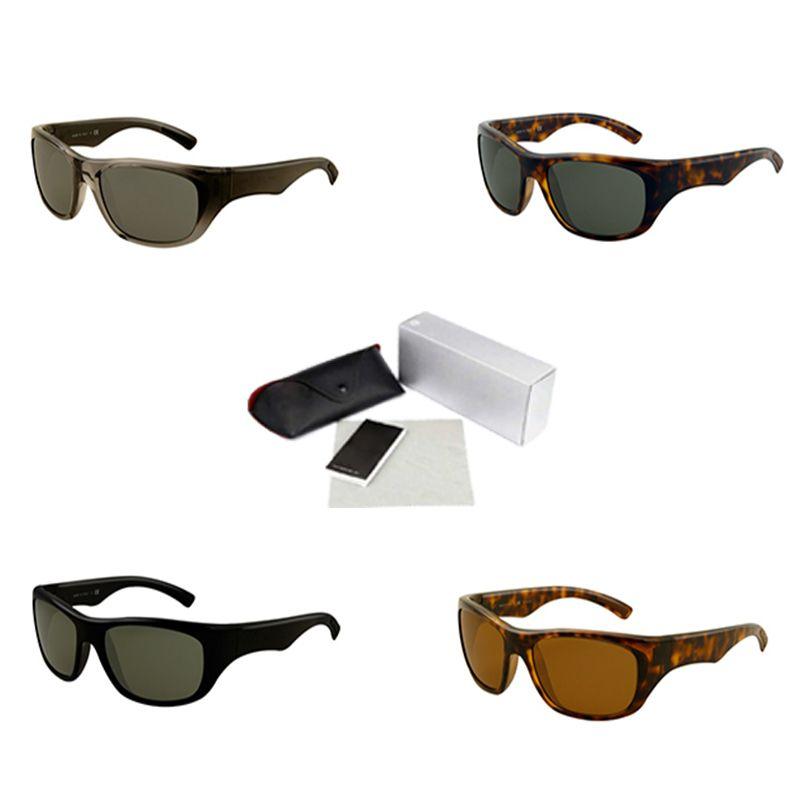 Plastic Sunglasses Men Wrap Around Frame Brand Fashion Sports Eyewear Luxury Designer Motorcycle Spectacles UV400 Lens Sun glasses 4177