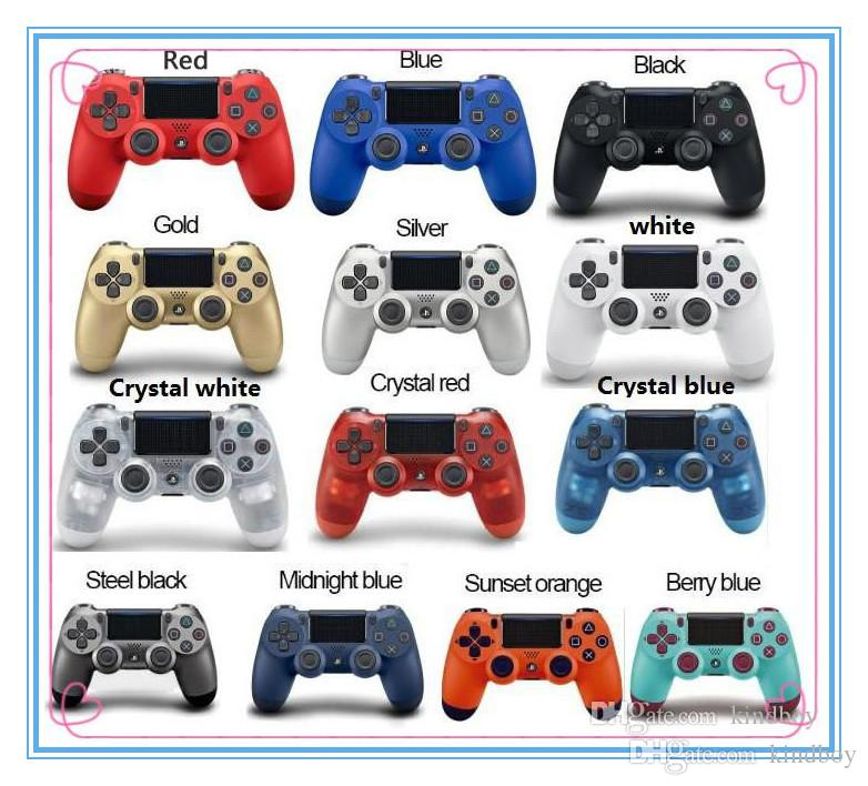 Bluetooth PS4 Wireless Controller for PS4 Vibration Joystick Gamepad PS4 Game Controller for Sony PlayStation 4 controller With retail box