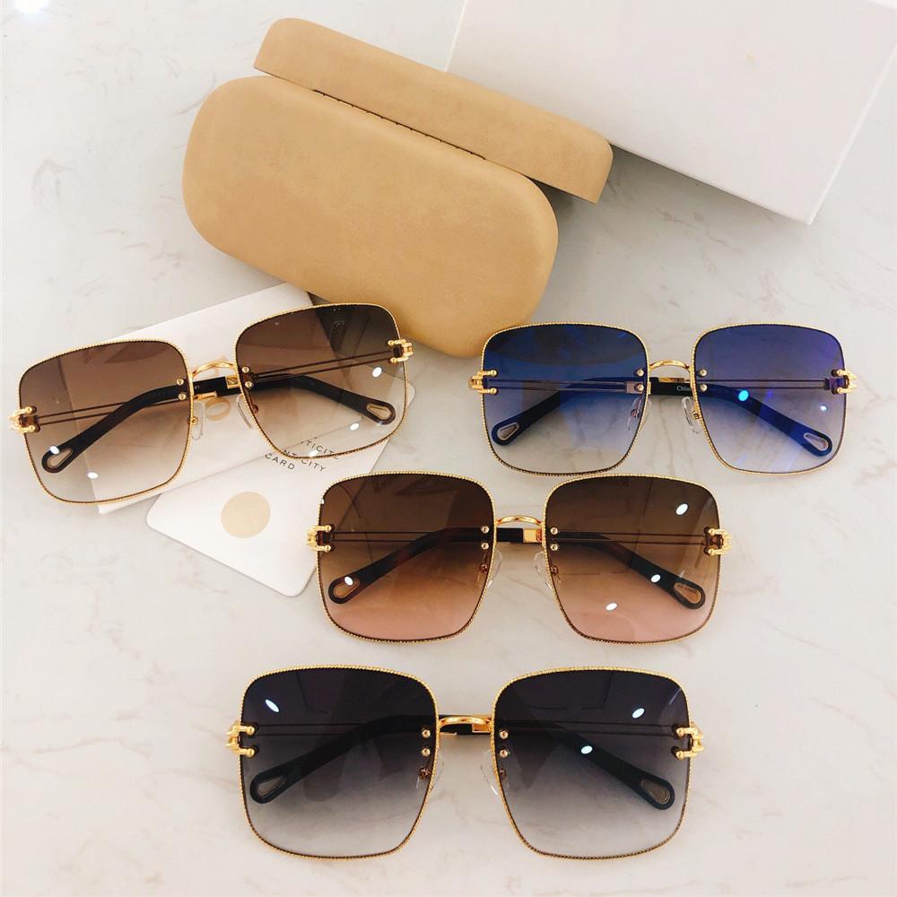 4084de9d3 Compre 2019 Popualr Gradiente Óculos De Sol Famosas Mulheres Na Moda De  Grandes Dimensões Óculos Quadrados 100% Proteção UV Designer Retro Escudo  Óculos Com ...