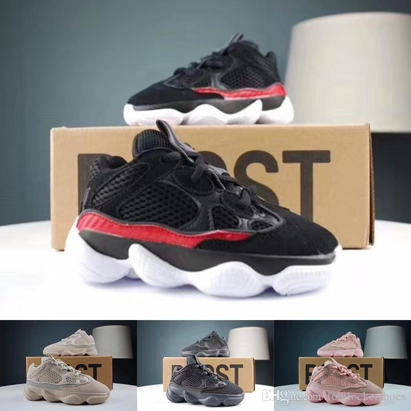 35c64fd1c 2019 2019 500 Kids Shoes Blush Desert Rat Infant 500 Running Shoes Utility  Black Baby Boy Girl Toddler Youth Trainers Designer Children Sneakers From  ...