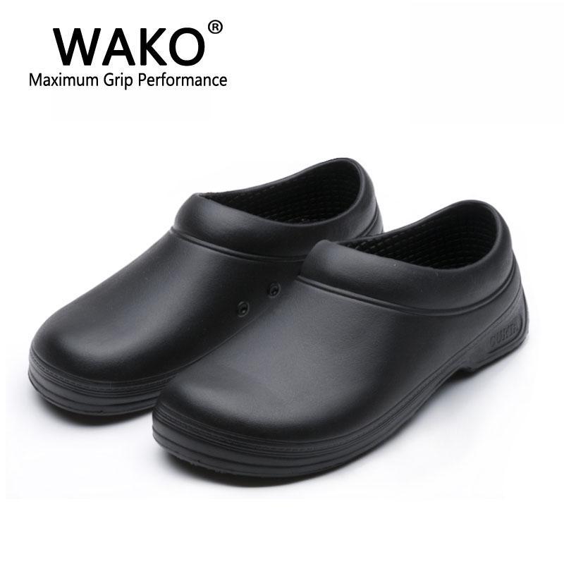 acheter pas cher 88445 fc378 vente en gros mâle chef chaussures hommes sandales pour ouvriers de cuisine  super anti-dérapant chaussures glissant noir cuire chaussures sécurité ...
