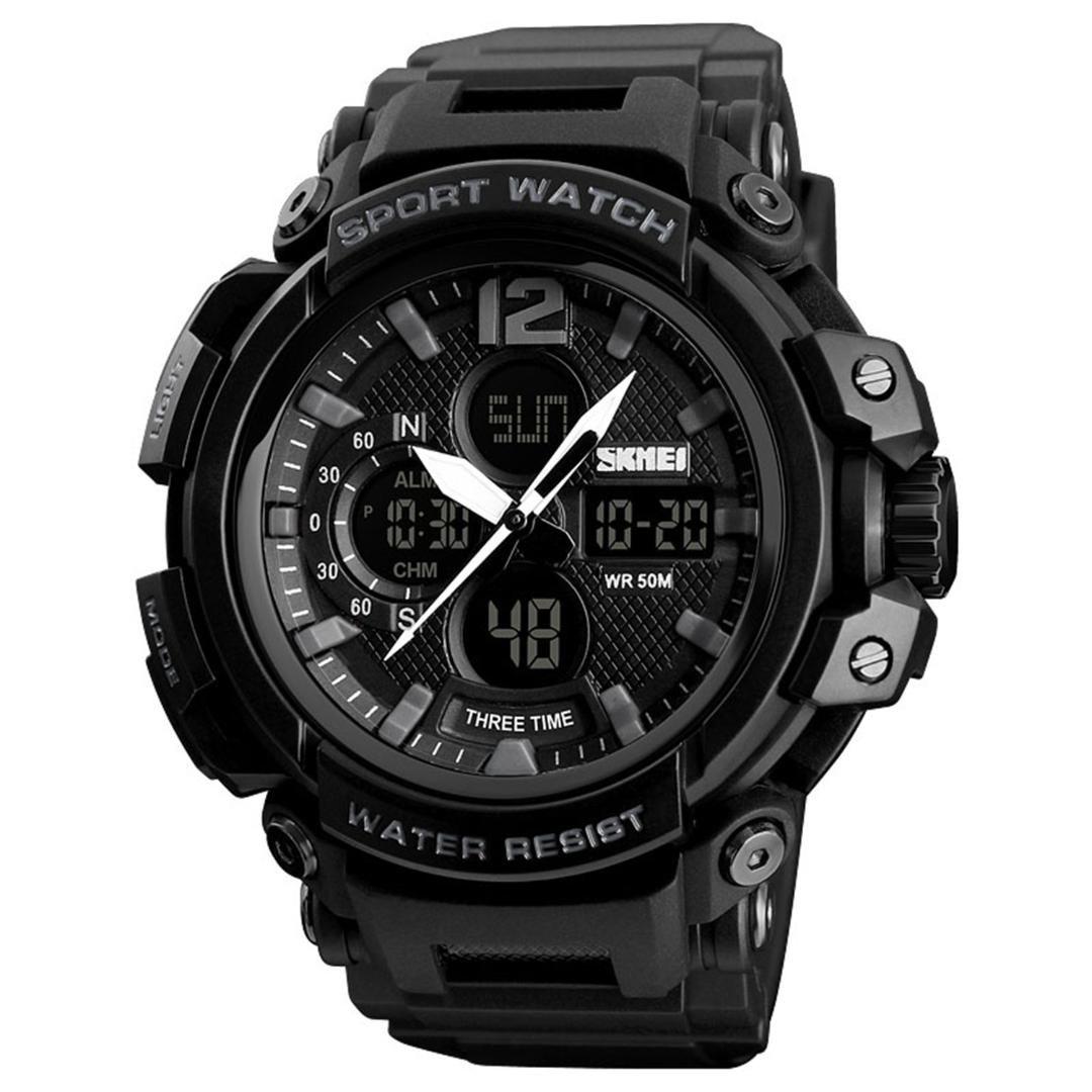 654e453cbfbc Relojes Automaticos Suizos Skmei Reloj Para Hombre Reloj De Moda Digital A  Prueba De Agua 50M Reloj Deportivo Al Aire Libre Para Hombres Reloj  Deportivo De ...