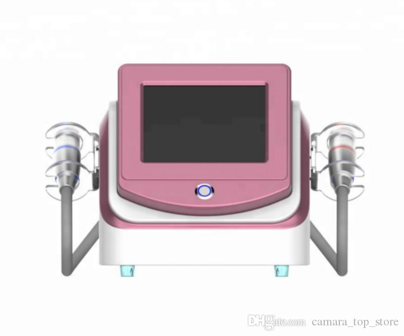 2019 new Popular 2 in 1 V-Max hifu ultrasound machine for face skin tightening wrinkle removal machine face lift machine salon use