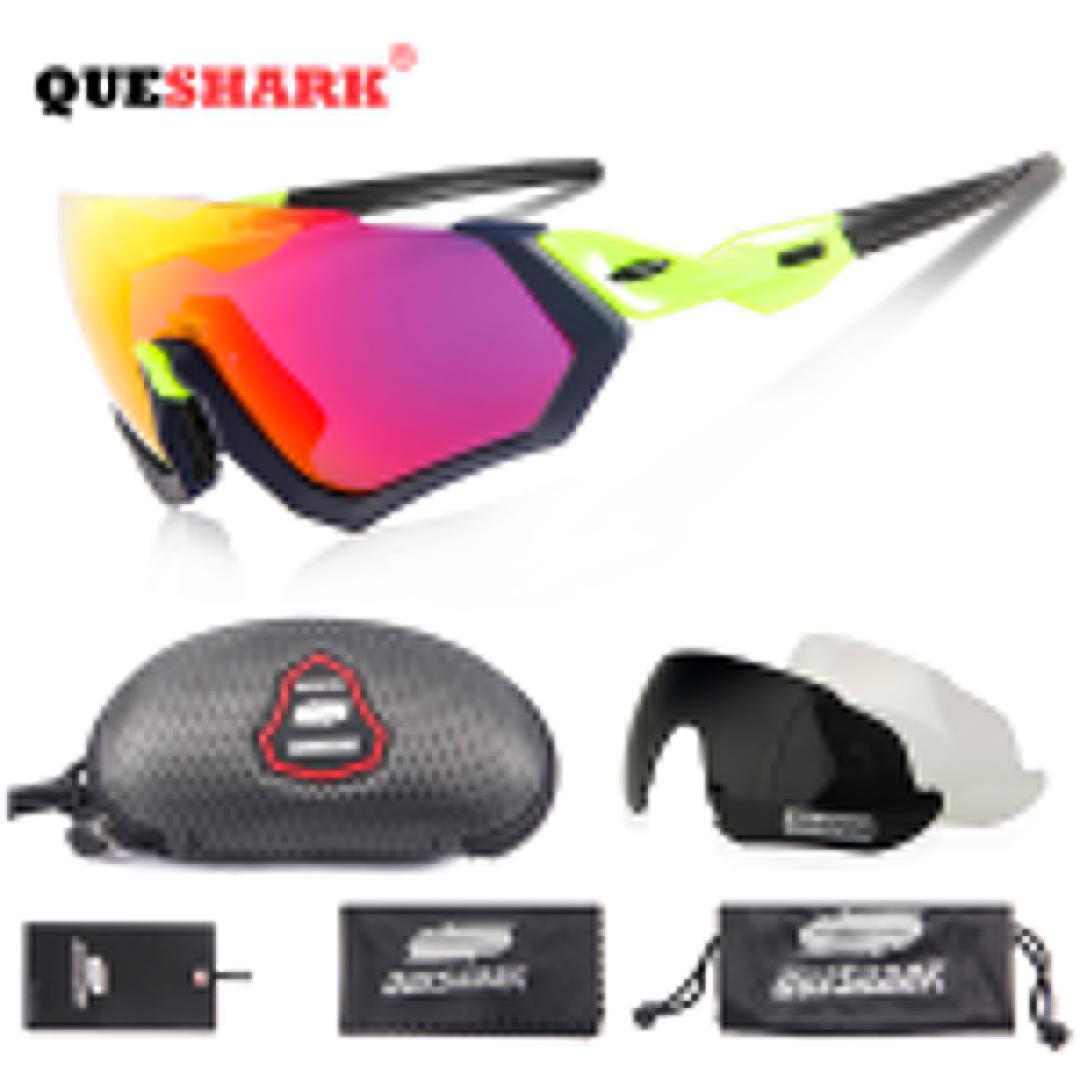 0a83618bbc Queshark Sport Sunglasses Mtb Cycling Glasses Bike Glasses Men Women ...