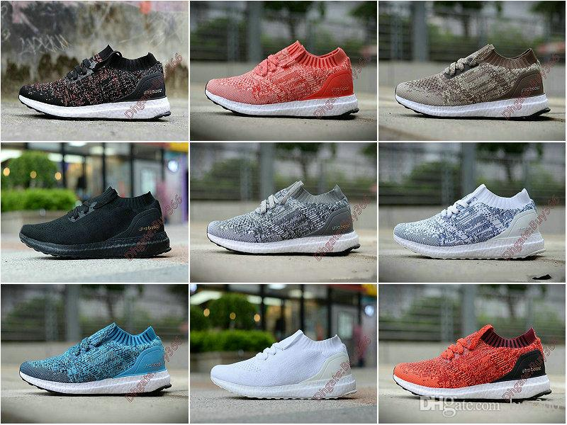 8837a7a5f138a UltraBoostS UB Uncaged Socks Shoes Coral Real Boos Sful Black Triple Black  White Red Parley Men Women Sport Sneakers 36 45 Jogging Shoes Sale Shoes  From ...
