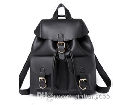 New PU Leather Women S Backpacks Fashionable Women S Bags Hunting Backpacks  Gregory Backpacks From Jinliang666 2fcdc91c18b5b