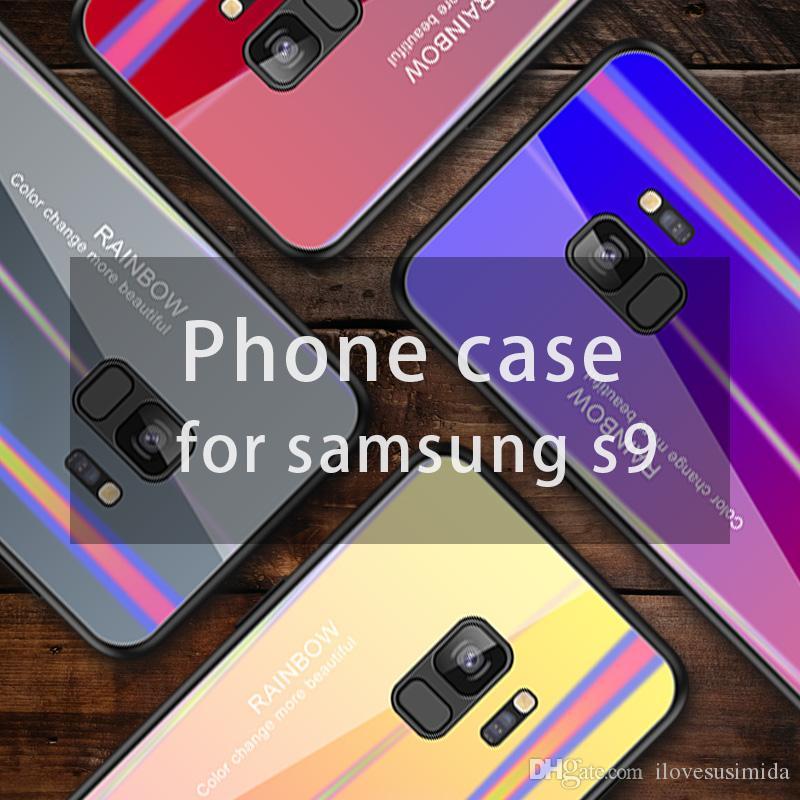 517db48a262 Fundas De Telefonos Estuche Para Teléfono Celular Y Accesorios Para IPhone X  6 6s 7 8 9 11 Xs, Estuche De Vidrio Templado Antirrayas Con Degradado ODM  OEM ...