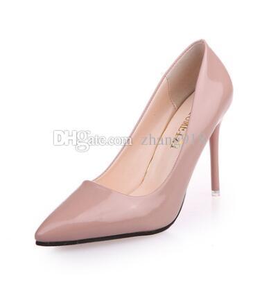new arrival bf90a 1662b Single Shoe Night Club Sexy ragazza scarpe col tacco alto 7,5 cm, punta  tacco 10,5 cm scarpe col tacco alto all ingrosso scarpe col tacco alto moda  7 ...