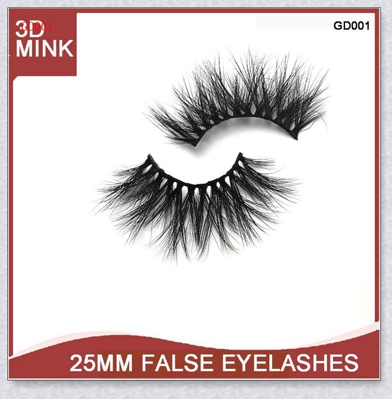 The Goddess Of Love 3d Mink Hair Eyelashes Fluffy Mink Lashes 25mm