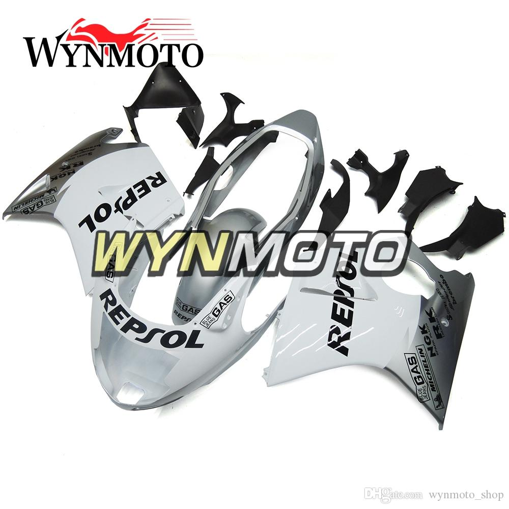 White Silver Kit Motorcycle Fairings For Honda CBR1100XX 1997 1998 1999 2000 2001 2002 2003 2004 2005 2006 2007 ABS Plastic Injection covers