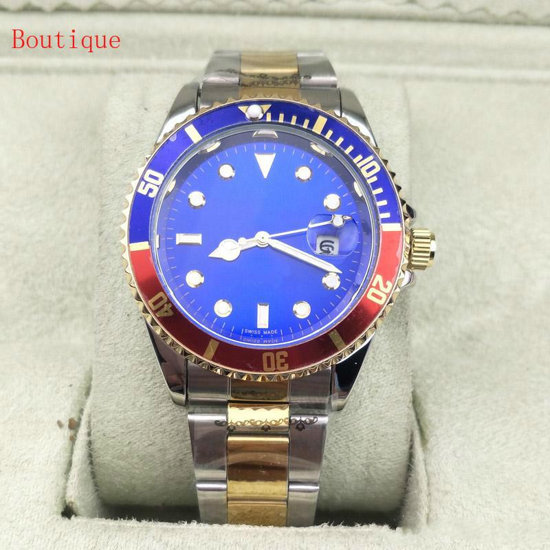Men And Women Watch Cool Quartz Wristwatches Fashion Stainless Steel Calendar Mens Business Watches Watch male mechanical
