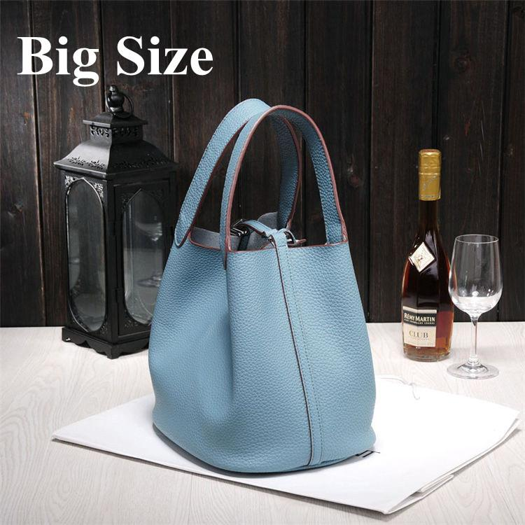 Wholesale New Women's handbags H famous brands top quality Genuine leather bags designer brand picotin lock ladies shopping bage5e0#