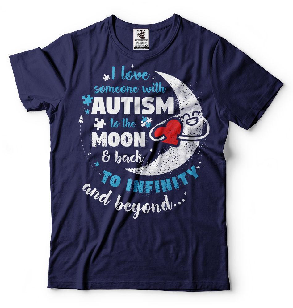 bc562fda0 Autism T Shirt Autism Awareness T Shirt I Love Someone With Autism T Shirt  Men Women Unisex Fashion Tshirt Shirts Mens Cool T Shirts Designs From ...