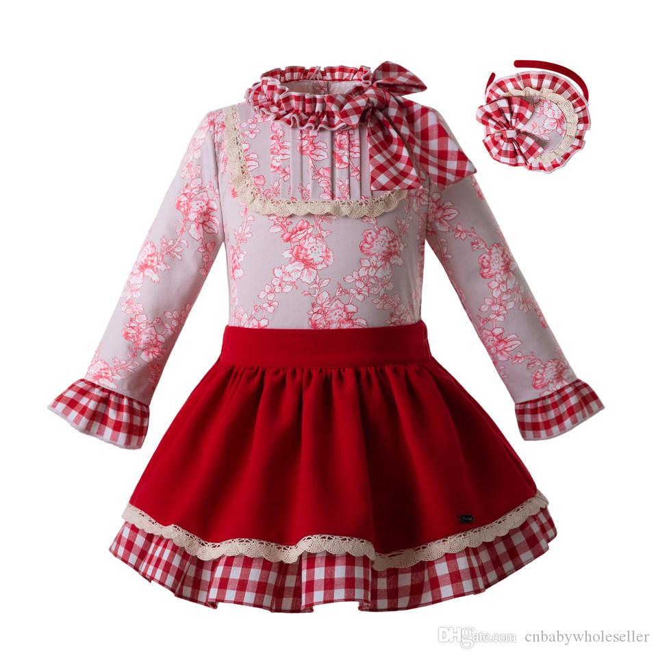 7a93241dc Pettigirl 2019 New Spring Girls Princess Clothing Set With Baby ...