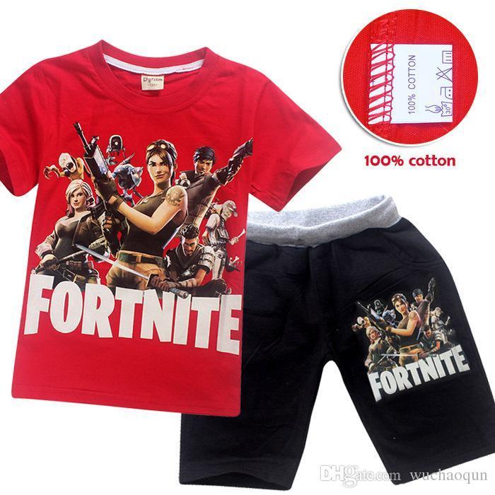 a8ce3bc3dc8f 2019 Comfy Loose Pyjama Sets Fortnite Battle Royale Pijamas Big Boys