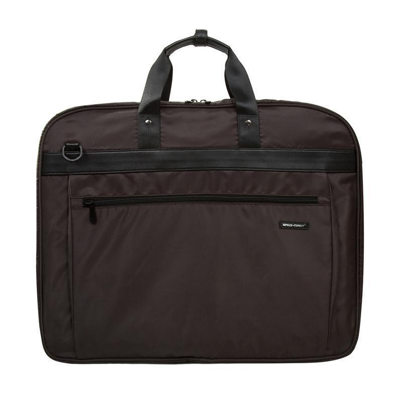 40709ba31c921 BAGSMARTSuit Cover Lightweight Black Nylon Business Dress Garment ...