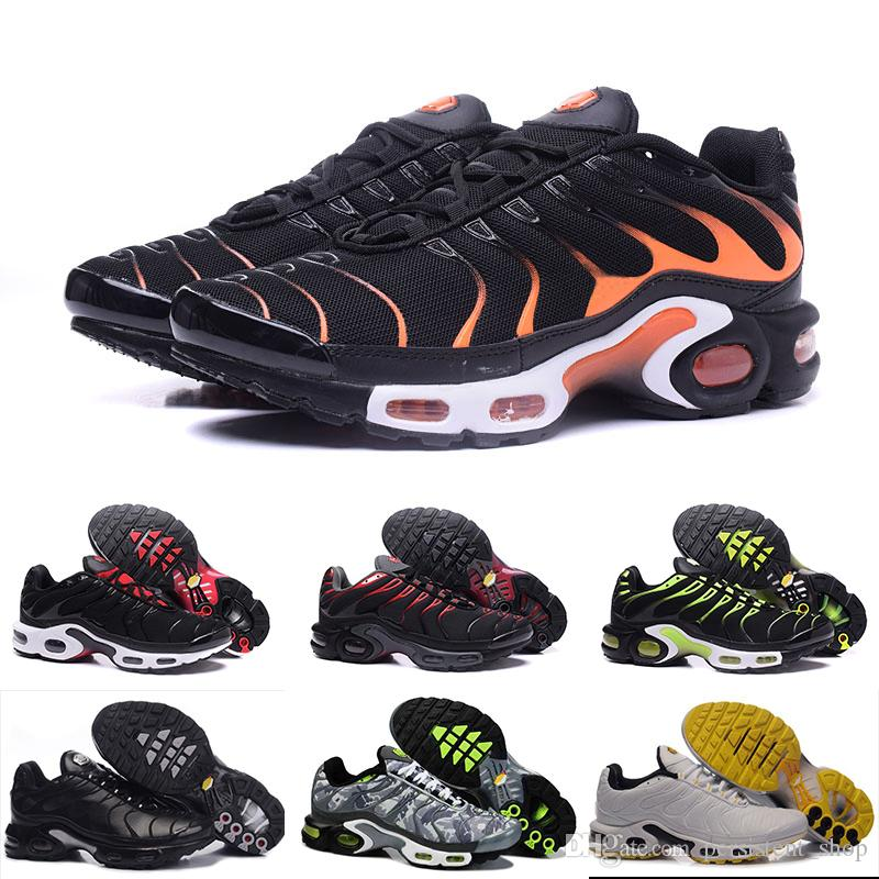Nike Air max TN 2019 zapatos casuales Original 2018 NEW TN Plus Men Shoes For Cheap Tn Plus blanco negro azul zapatos casuales Tn Requin Chaussures