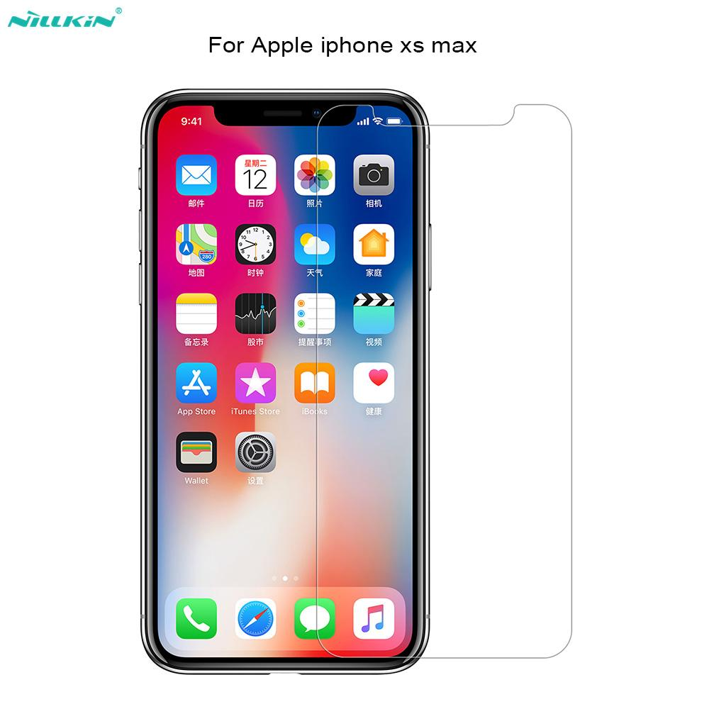 6d60bdd56c9 Protectores De Moviles Para Apple IPhone Xs Max Nillkin Glass Amazing H +  Pro 2.5D Round Edge 0.2 Mm Protector De Pantalla De Cristal Templado Para  Iphone X ...