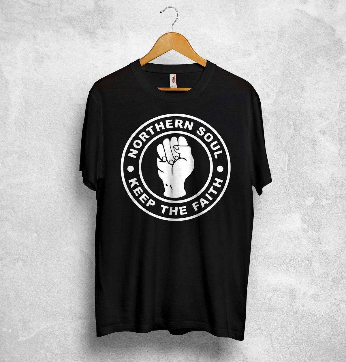 Northern Soul T Shirt Top Keep The Faith England Soul Motown Little Anthony