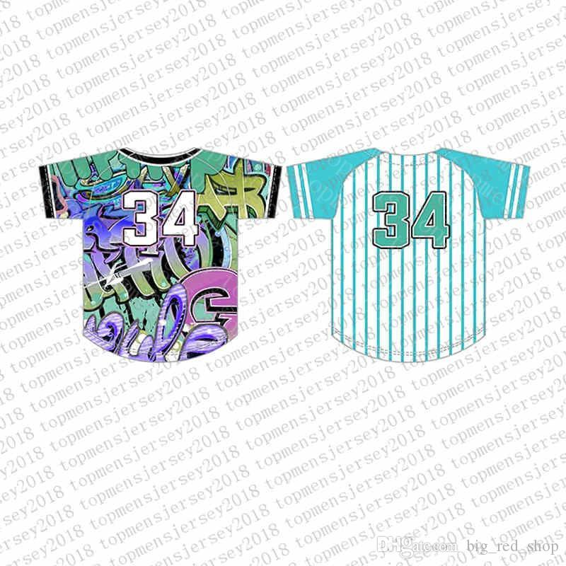 Top Custom Baseball Jerseys Mens Embroidery Logos Jersey Fre989898e Shipping Cheap wholesale Any name any number Size M-XXL 52
