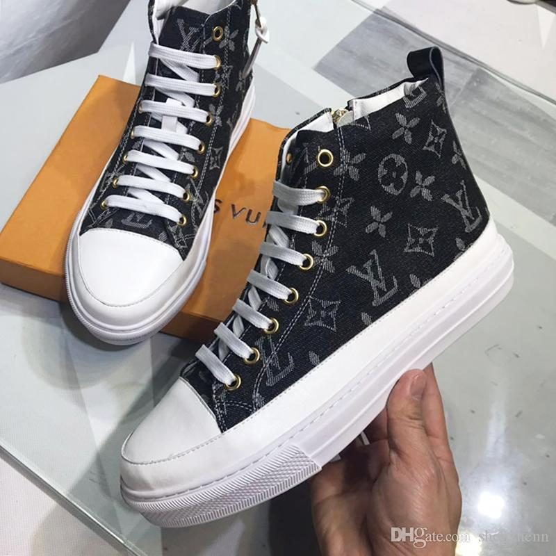 0d0696807b Luxury Sports Shoes for Men Sneakers Flats Running Tennis Comfort Trendy  Footwear Lace Up Top Quality Trainers High Top Ankle Boots