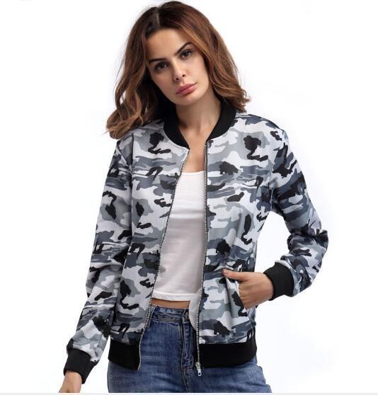 9ee832cb08 Hot Sale Designer Jackets For Women Sweatershirt Spring Autumn Lady  Outerwear Long Sleeve Zipper Street Coats Clothing S 2XL Spring Jacket  Womens Jacket ...