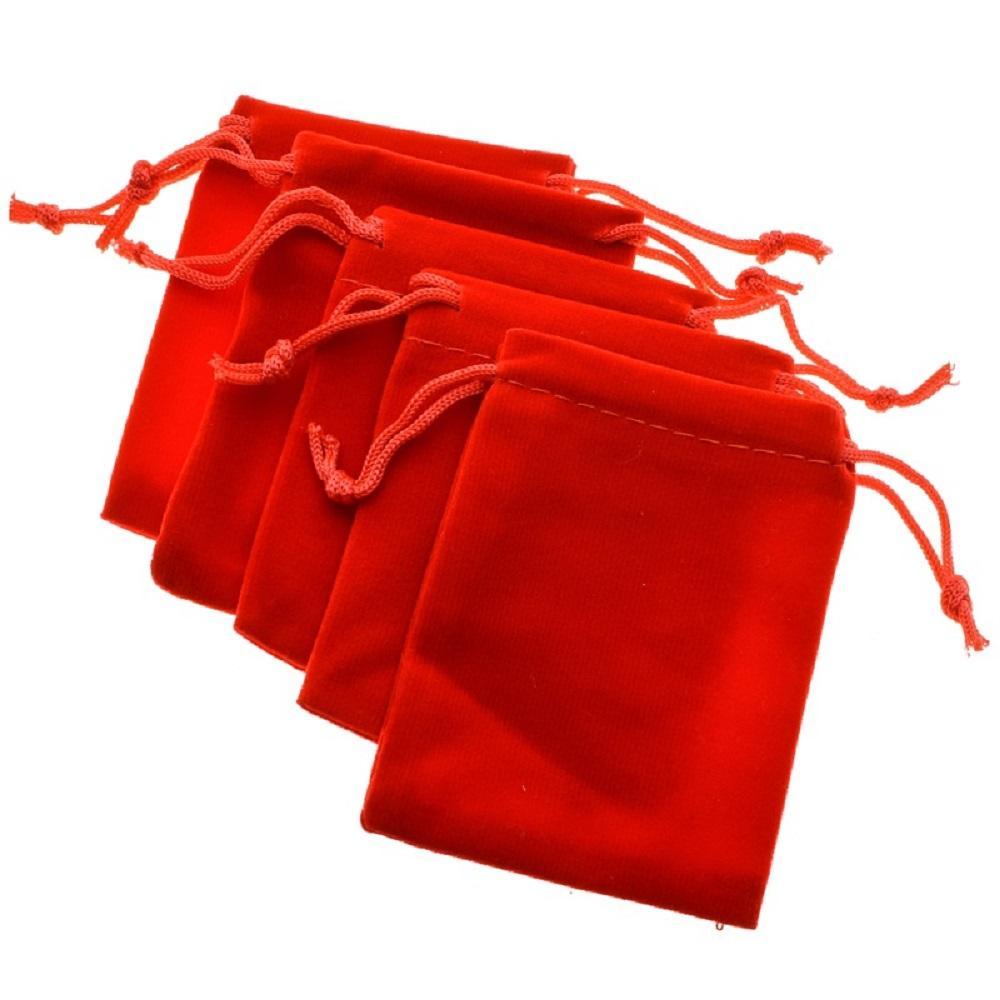 LUBINGSHINE 5 шт. / Лот Бархатные Черные Ювелирные Подарочные Пакеты Браслет Ремешок Мешочки на Шнурке Оптовая Упаковка Ювелирных Изделий 10 * 15 см
