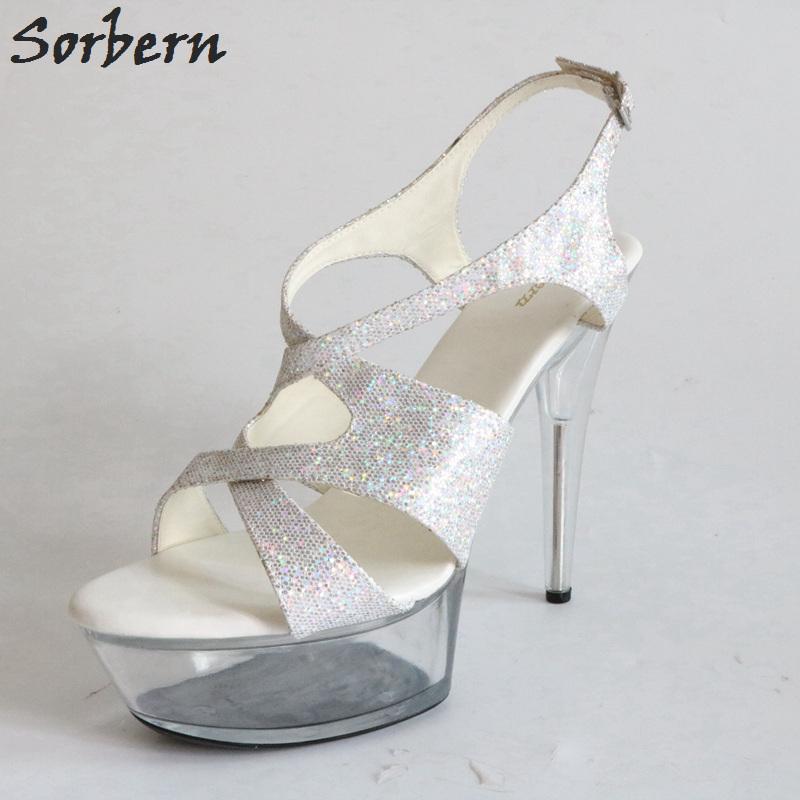 3d5b537bf5 ... Mujeres Spike Heels 15 Cm Plataforma De Verano Zapatos Para Mujer  Plexiglás Tacones De Lujo Zapatos Mujeres Diseñadores A $105.3 Del  Shoes8800   DHgate.