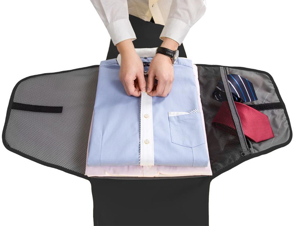 e28e433717b4 Ravel Accessories Bag BAGSMART 17 Men Women Garment Folder Anti Wrinkle T  Shirts Ties Packing Bags Travel Accessories Bag And Luggage Pa.
