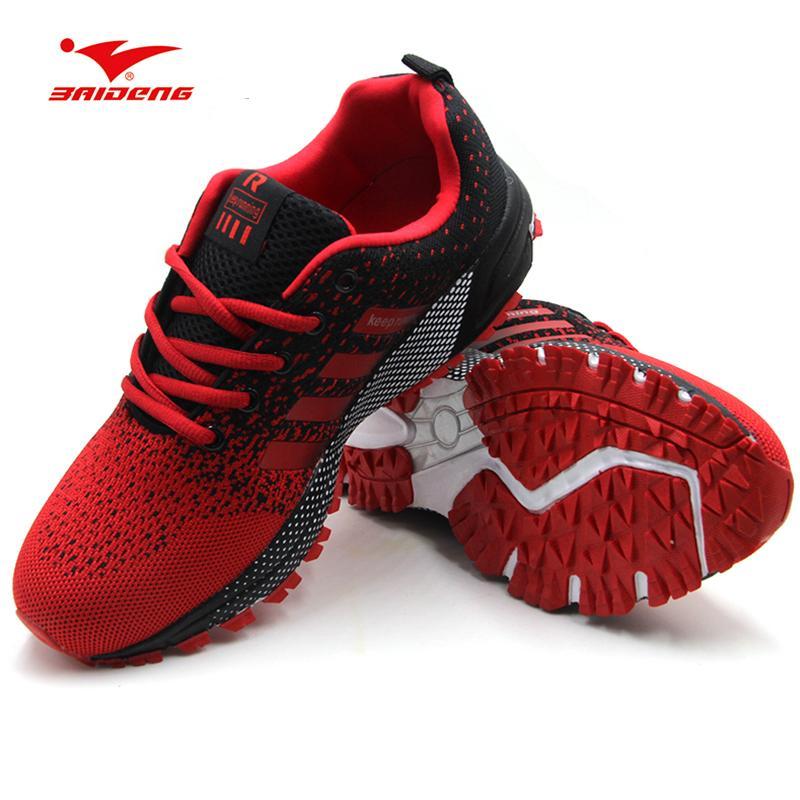 8eee17a0b13 Compre Zapatillas Deportivas Para Hombre Baratas Deportivas 2018  Transpirable Zapatillas Deportivas Para Hombre Zapatillas De Deporte Ligeras  De Color Rojo ...