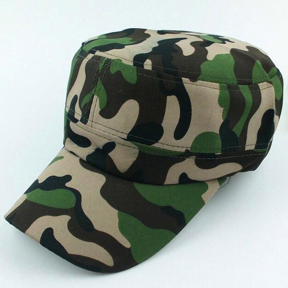 d943b75b2b0 Fashion Adult Men Women Unisex Casual Adjustable Camouflage Print ...