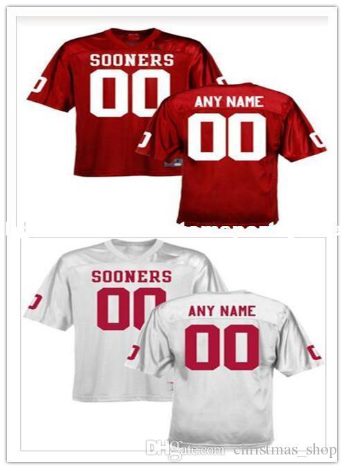 oklahoma sooners custom football jersey