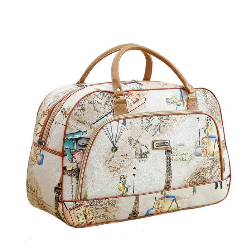 da50ccdf1d10 Women Travel Bags 2018 New Fashion Pu Leather Large Capacity ...