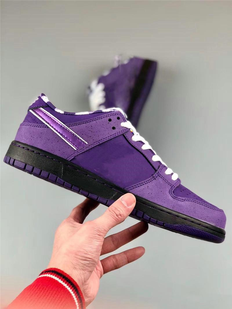 Wholesale designer dunk low Carey blue purple lobster running shoes dunk women's magnified loafers size 36-45