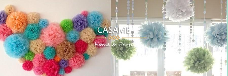 cute babyshower decoration 15cm 6 inch Tissue Paper Flowers paper pom poms balls lanterns Party Decor Craft Wedding