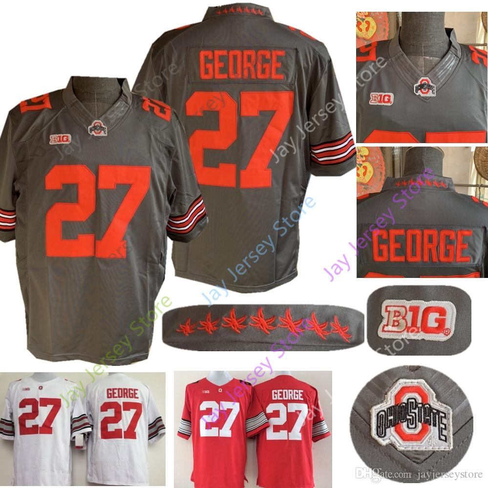 d8721dbf6 Eddie George Jersey College NCAA Football OSU Ohio State Buckeyes Jerseys  Red Grey White Size S-3XL COLLEGE Jersey Online with $27.11/Piece on ...