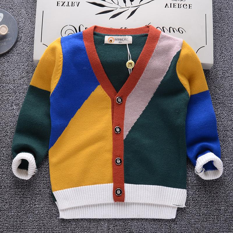 13f5f22e1 Good Quality Baby Boy Girl Sweater Cardigans Winter Thick Warm Kids ...