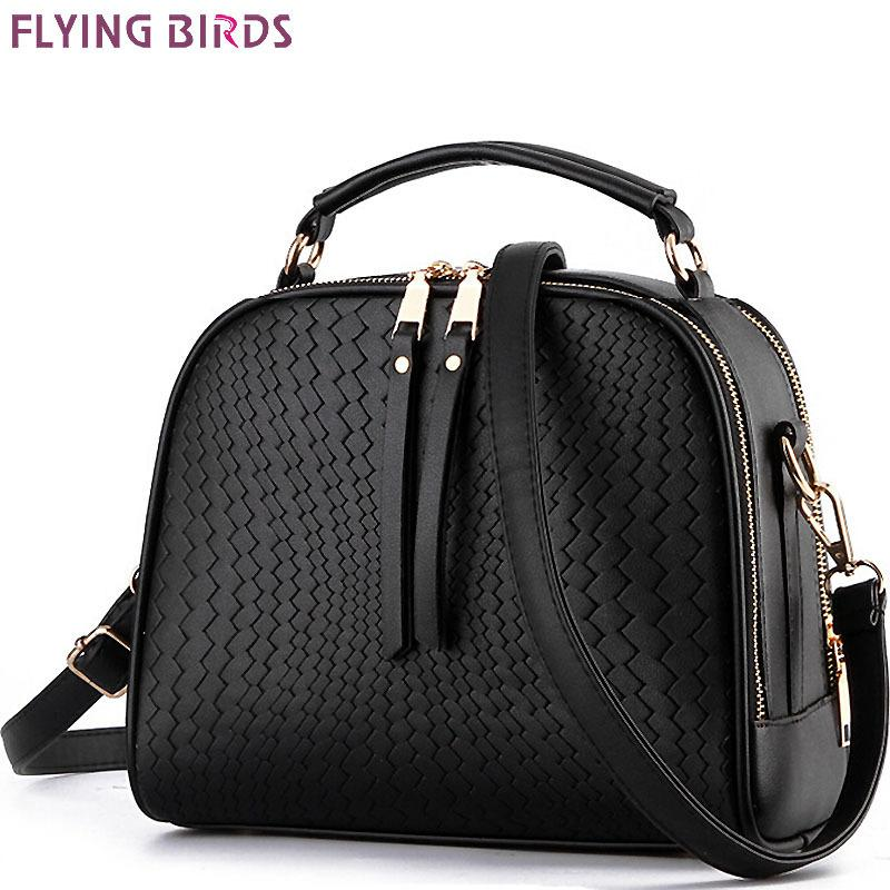Flying Birds! Women Leather Handbag Brand Women Bags Messenger Bags Shoulder Bag Leather Handbags Women's Pouch Bolsas Ls4674fb J190514
